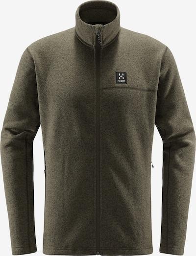 Haglöfs Funktionele fleece-jas 'Swook' in de kleur Aardetinten / Zwart, Productweergave