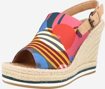 TOMS Sandale 'MONICA' in Mischfarben