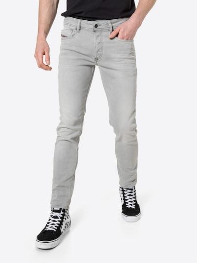 DIESEL Vaquero 'SLEENKER-X' en gris claro, Vista del modelo