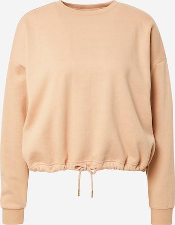 Athlecia Athletic Sweatshirt 'Soffina' in Brown