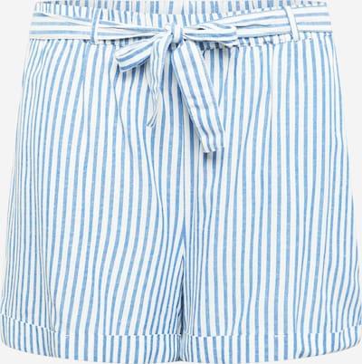 ABOUT YOU Curvy Shorts 'Noelia' in blau / weiß, Produktansicht
