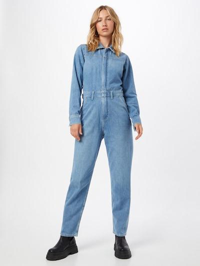 Calvin Klein Jeans Jumpsuit in blue denim, Modelansicht
