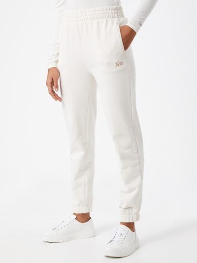 BOSS Casual Hose in weiß, Modelansicht