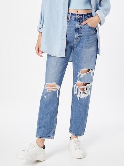 Jeans American Eagle pe albastru, Vizualizare model