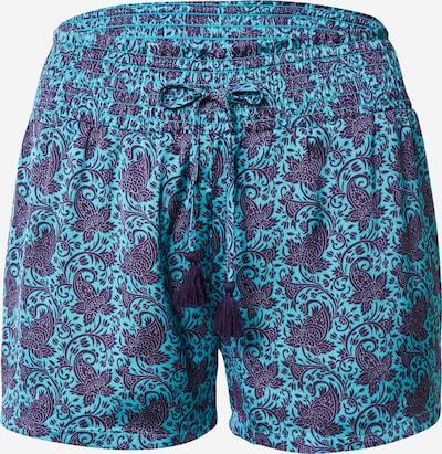 ETAM Pajama Pants 'BODRA' in Turquoise / Dark purple / White, Item view