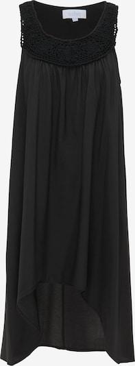 usha BLUE LABEL Poletna obleka | črna barva, Prikaz izdelka