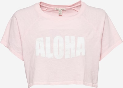 BILLABONG Shirt 'JUST BEACHIN' in de kleur Rosa / Wit, Productweergave