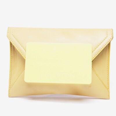 HALSTON HERITAGE Clutch in S in gelb, Produktansicht