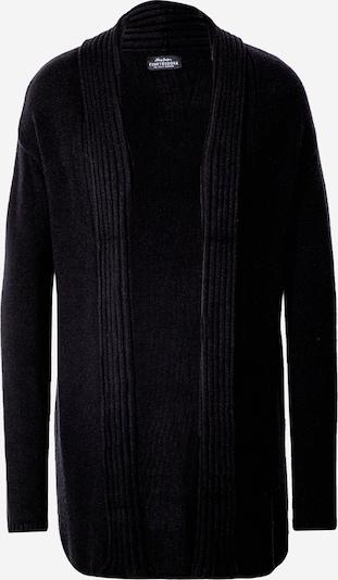 Funky Buddha Strickjacke in schwarz, Produktansicht