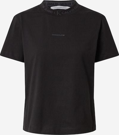 Tricou Calvin Klein Jeans pe gri / negru, Vizualizare produs