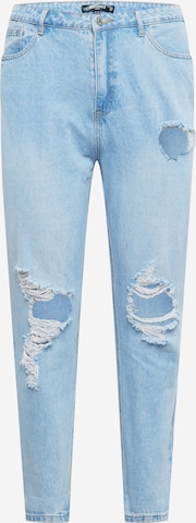 Missguided Plus Jeans in Blue