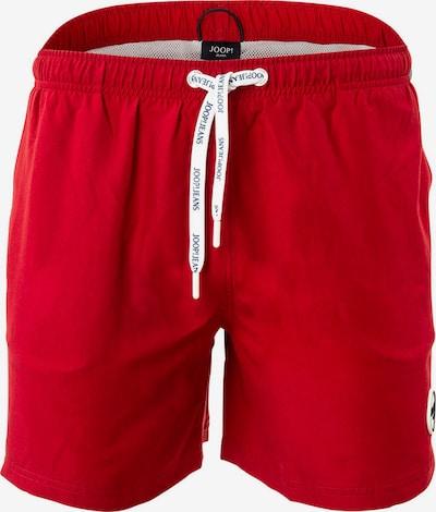 JOOP! Zwemshorts in de kleur Donkerrood / Wit, Productweergave
