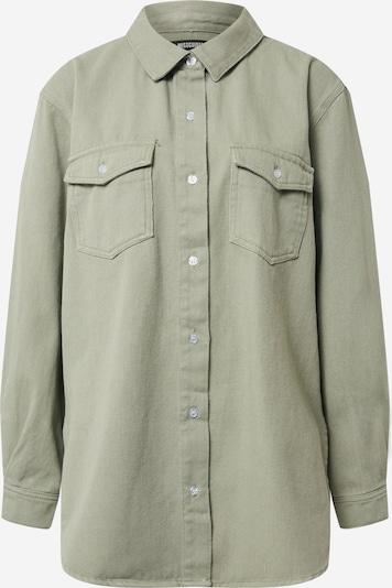 Missguided Bluse in khaki, Produktansicht