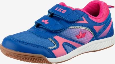 LICO Sportschuhe CHARLIE für Mädchen in blau / pink, Produktansicht