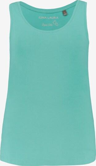 Gina Laura Top in smaragd, Produktansicht