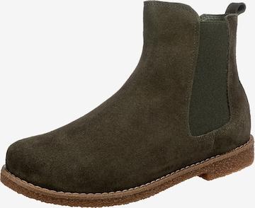 ANDREA CONTI Chelsea Boots in Grün