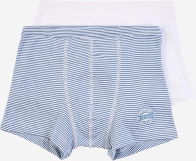 PETIT BATEAU Boxershorts in rauchblau / weiß, Produktansicht