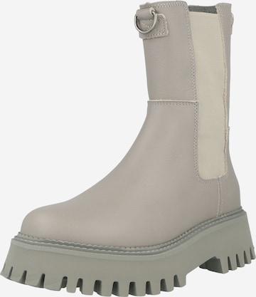 BRONX Chelsea Boots 'Groov-Y' in Grau