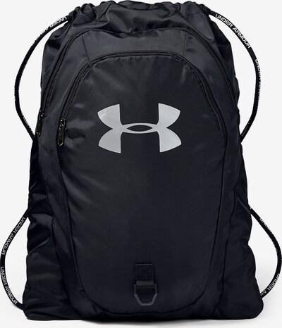 UNDER ARMOUR Sportturnbeutel 'Undeniable' in schwarz / weiß, Produktansicht