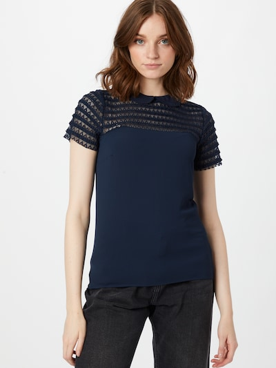 Bluză 'Omilo' NAF NAF pe albastru închis, Vizualizare model