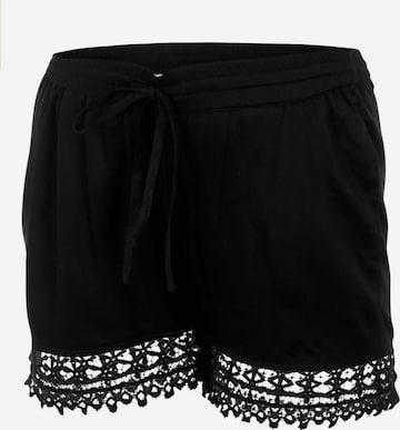 MAMALICIOUS Pants in Black