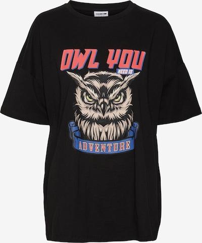 Noisy may Shirt 'Ida' in de kleur Donkerblauw / Grijs / Rood / Zwart, Productweergave