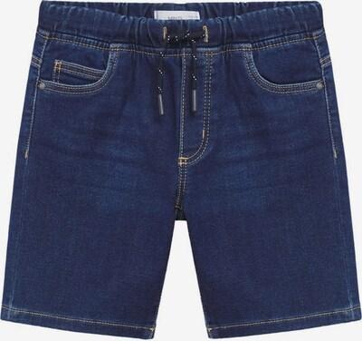 Jeans MANGO KIDS pe albastru închis, Vizualizare produs