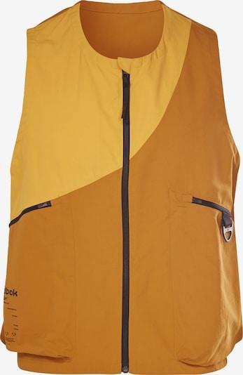 REEBOK Sportbodywarmer in de kleur Lichtoranje / Donkeroranje, Productweergave