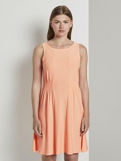 TOM TAILOR DENIM Kleid in mandarine, Modelansicht