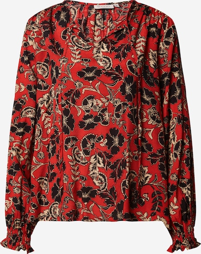Masai Blouse in beige / red / black, Item view