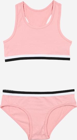 OVS Set in rosa / schwarz / weiß, Produktansicht