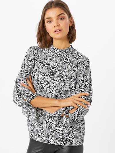 Dorothy Perkins Shirt in de kleur Zwart / Wit: Vooraanzicht