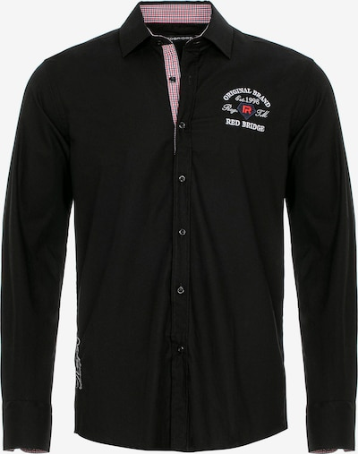 Redbridge Hemd 'Pomona' in schwarz, Produktansicht