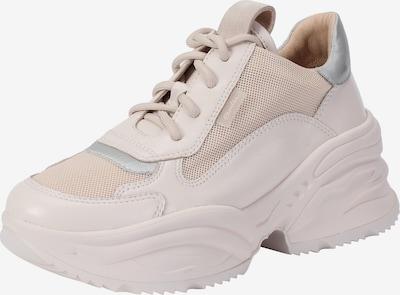 Ekonika Massive Sneaker mit dicker Gummisohle in beige / hellbeige: Frontalansicht