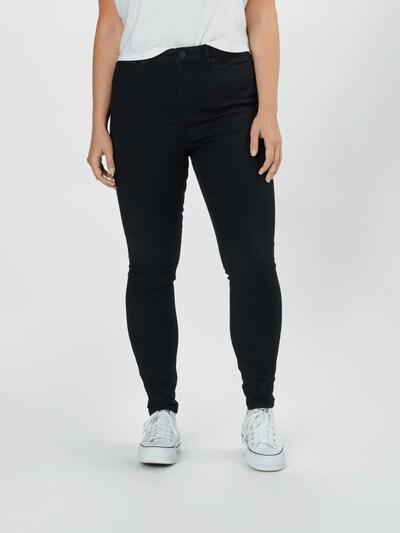 Junarose Jeans in schwarz, Modelansicht