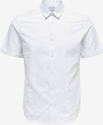 Only & Sons Overhemd in de kleur Wit, Productweergave