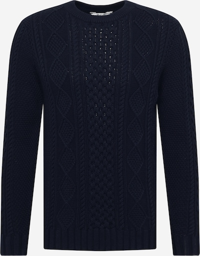 !Solid Sweater in Navy, Item view