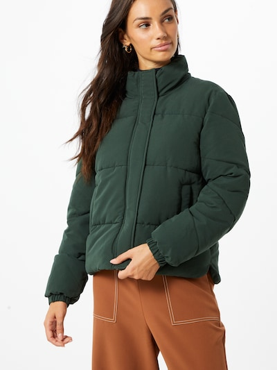 Another Label Jacke 'Mille' in grün: Frontalansicht