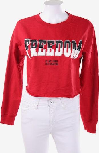 Tally Weijl Sweatshirt & Zip-Up Hoodie in S in Red, Item view