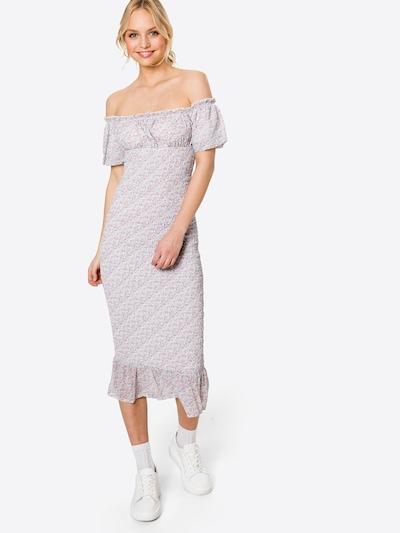 Love Triangle Letné šaty 'AURORA' - azúrová / fialová / ružová / biela, Model/-ka