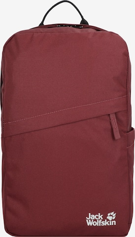 JACK WOLFSKIN Backpack 'Cariboo' in Red