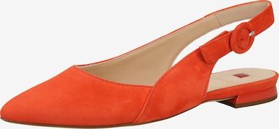 Högl Ballerines à lanières en rouge orangé, Vue avec produit