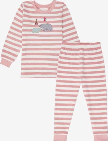 Pijamale 'JOHN' de la Sense Organics pe roz