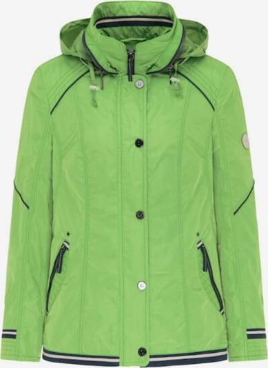 Barbara Lebek Jacke in dunkelblau / grün / weiß, Produktansicht