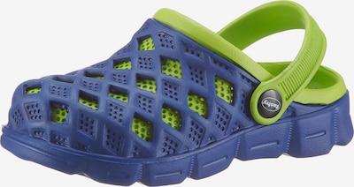 FASHY Clogs 'SEPHIA' in blau / grün, Produktansicht