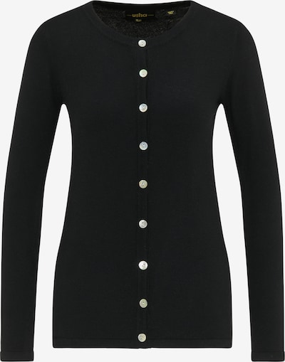 usha BLACK LABEL Knit cardigan in Black, Item view