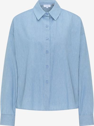 usha BLUE LABEL Bluse in hellblau / weiß, Produktansicht