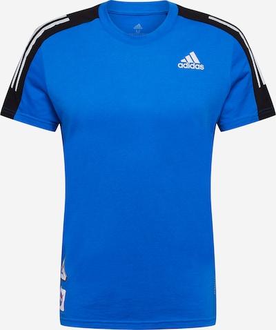 ADIDAS PERFORMANCE Camiseta funcional 'Run It Space Race' en azul / negro / blanco, Vista del producto