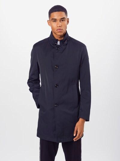 JOOP! Manteau mi-saison 'Felino' en marine, Vue avec modèle