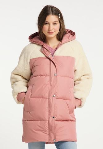 MYMO Wintermantel in Pink